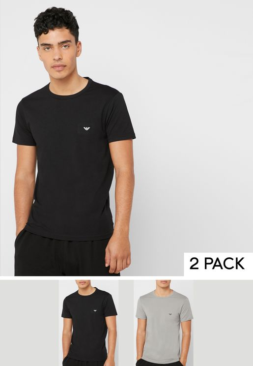 2 Pack V-Neck T-Shirt