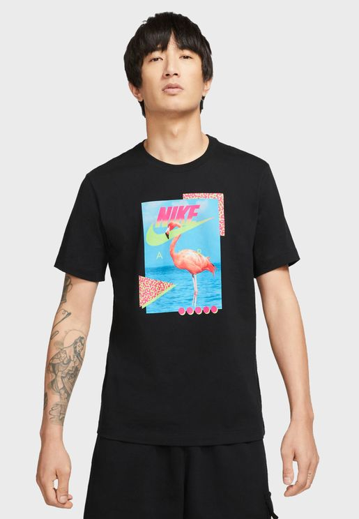 NSW Beach Flamingo T-Shirt