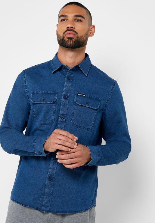 Herrigbone  Shirt