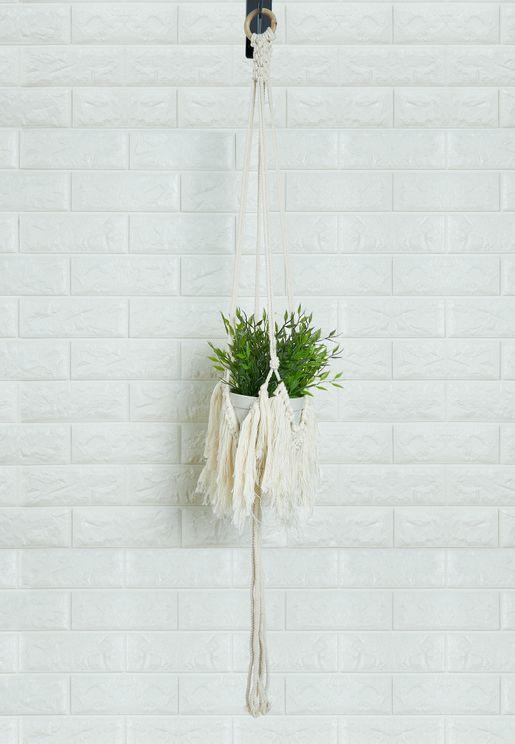 حمالة نباتات بشراشيب