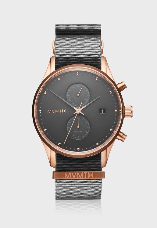 MV01-RGGR2 Voyager Chronograph Analog Watch