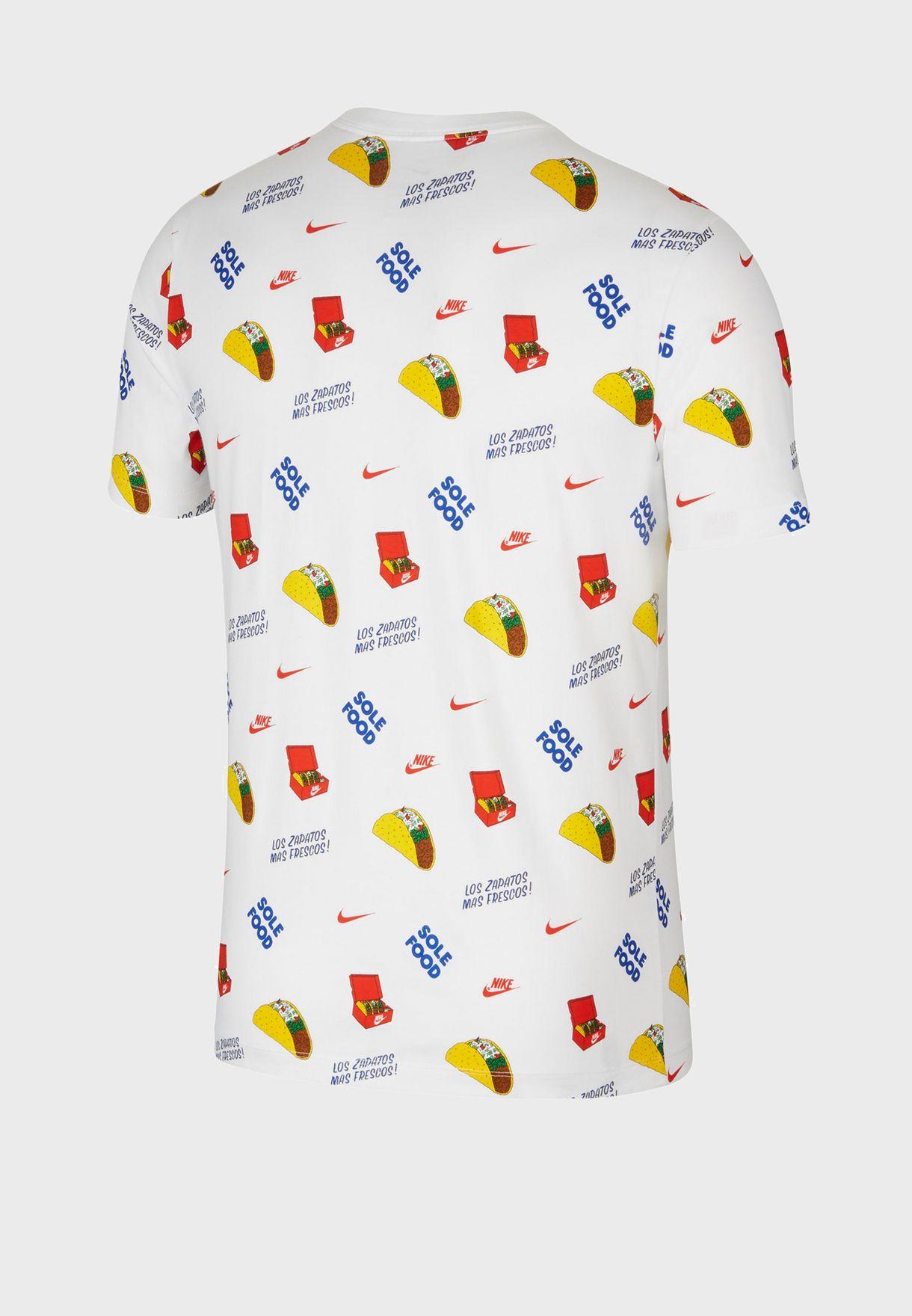 NSW Food AOP T-Shirt