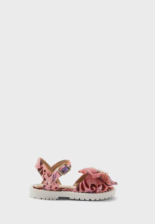 Infant Bow Detail Sandal