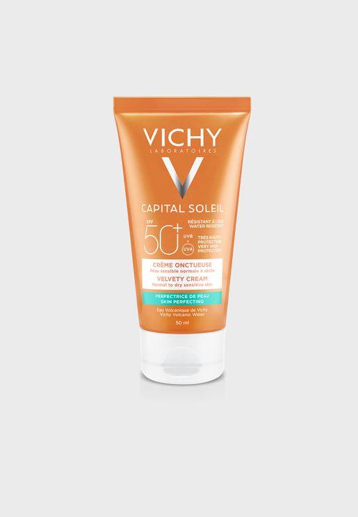 Ideal Soleil Capital Soleil Velvety Face Sun Cream Spf 50+ 50ml