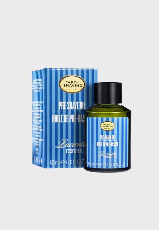 Pre-Shave Oil Lavender 60ml