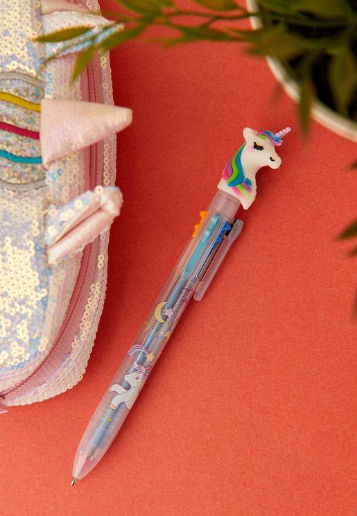 قلم حبر بألوان
