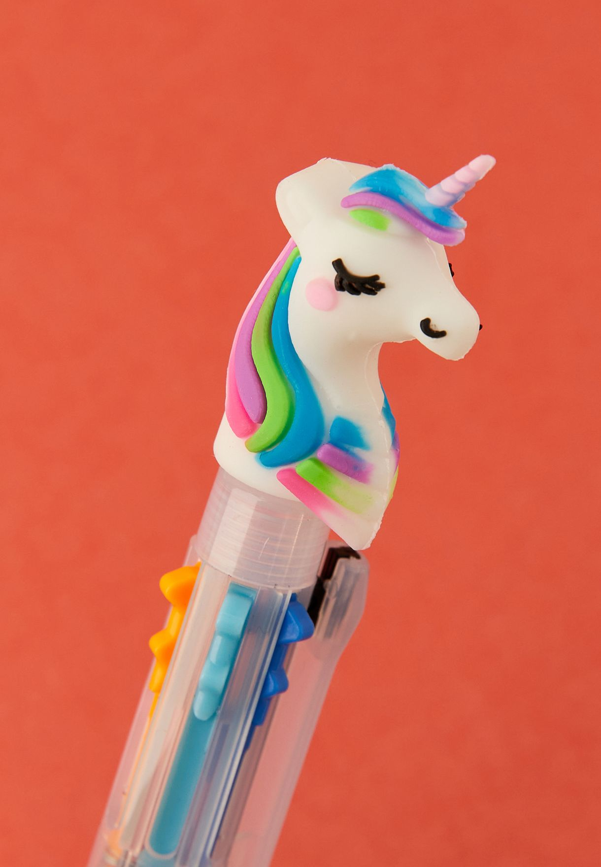 Multicolored Unicorn Pen