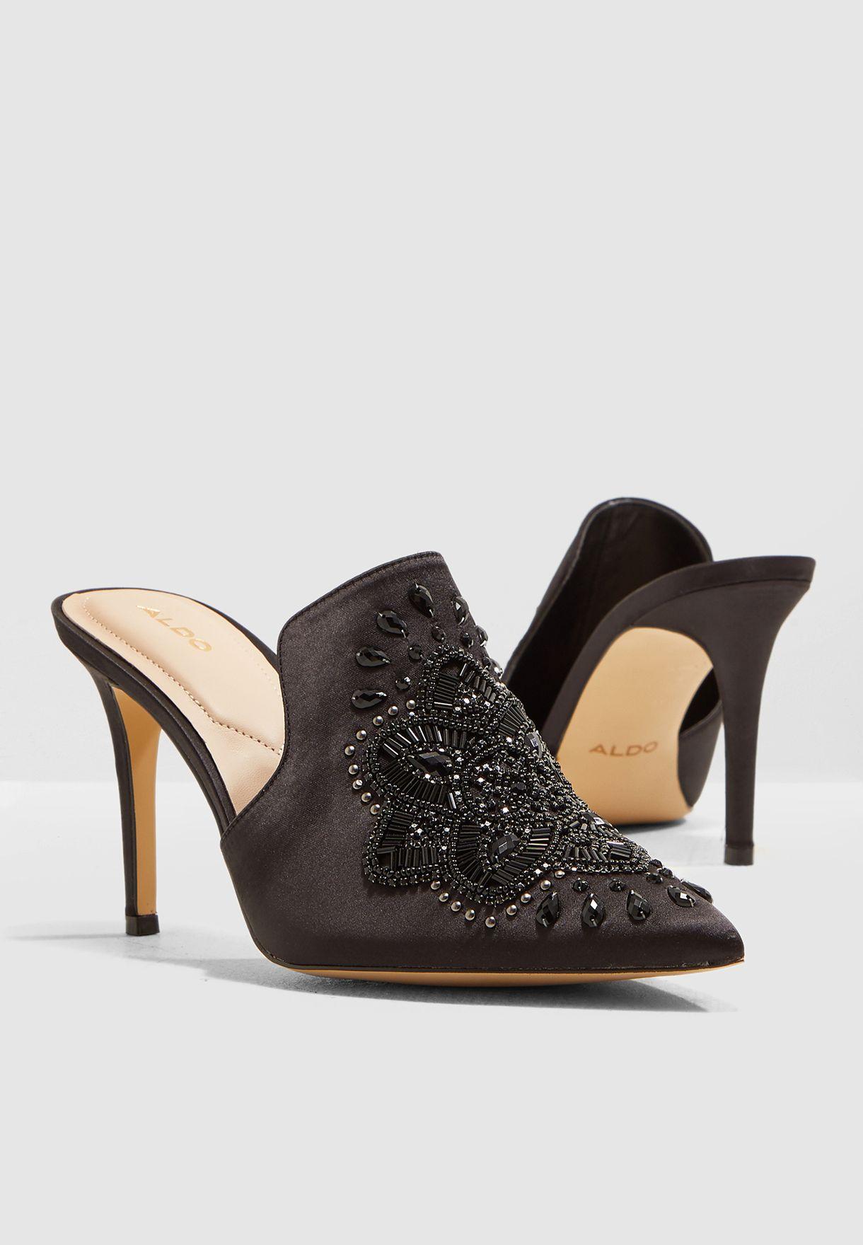 6bd09e50687ebd Shop Aldo black Unoreniel Pump UNORENIEL94 for Women in UAE ...