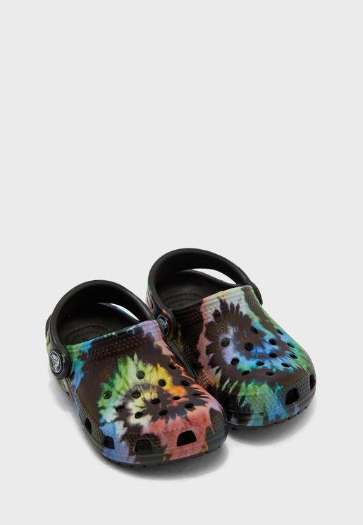 Kids Tie Dye Graphic Sandal