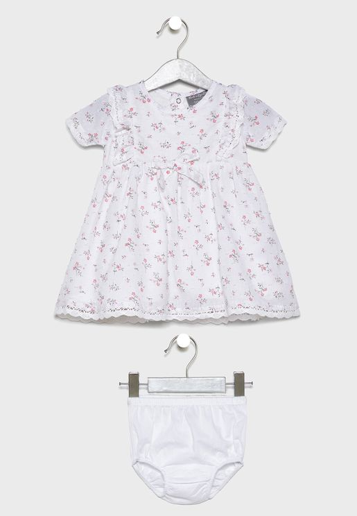 فستان بيبي مطبع