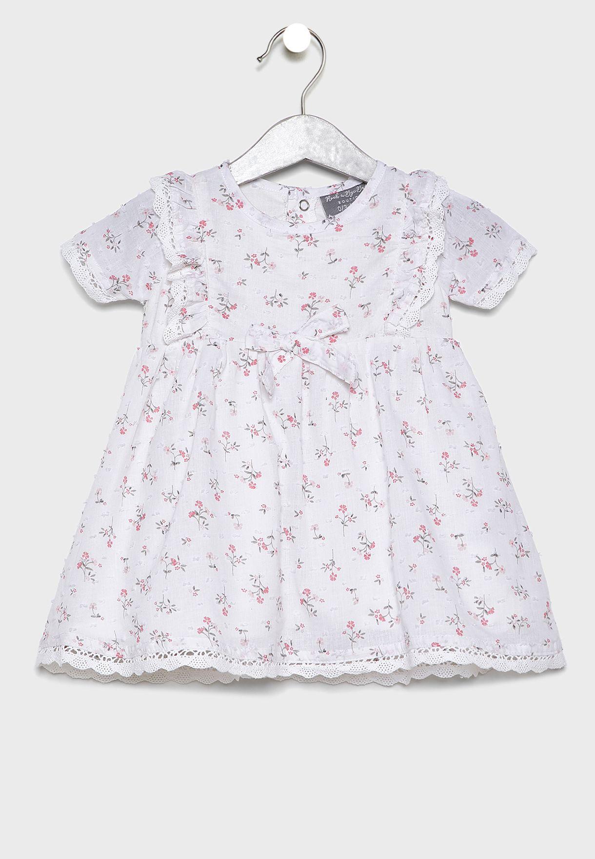 Infant Frill Shoulder Dress