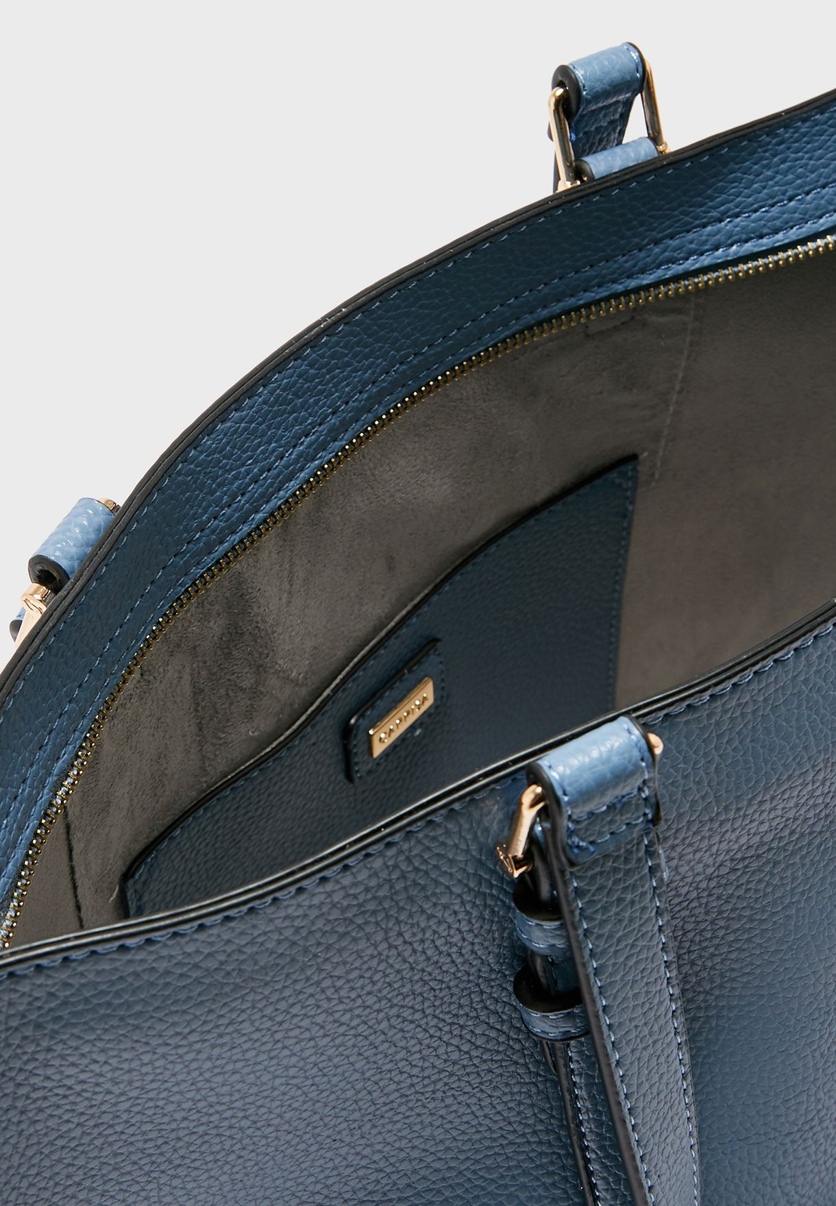 Buckle Detail Strap Tote