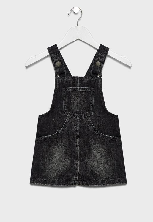 Kids Pocket Detail Dungaree