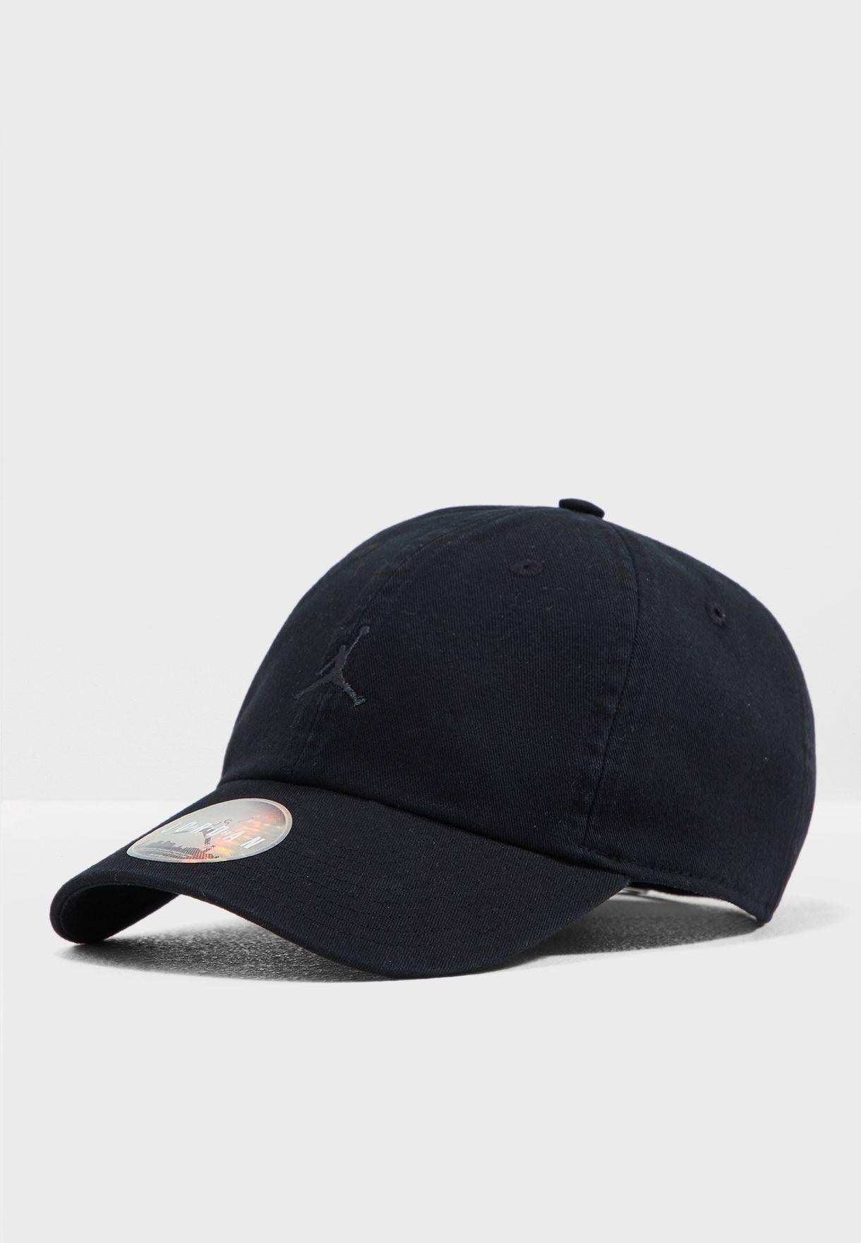 a803d4f2ebb Shop Nike black Jordan H86 Jumpman Cap AR2117-010 for Men in Saudi ...