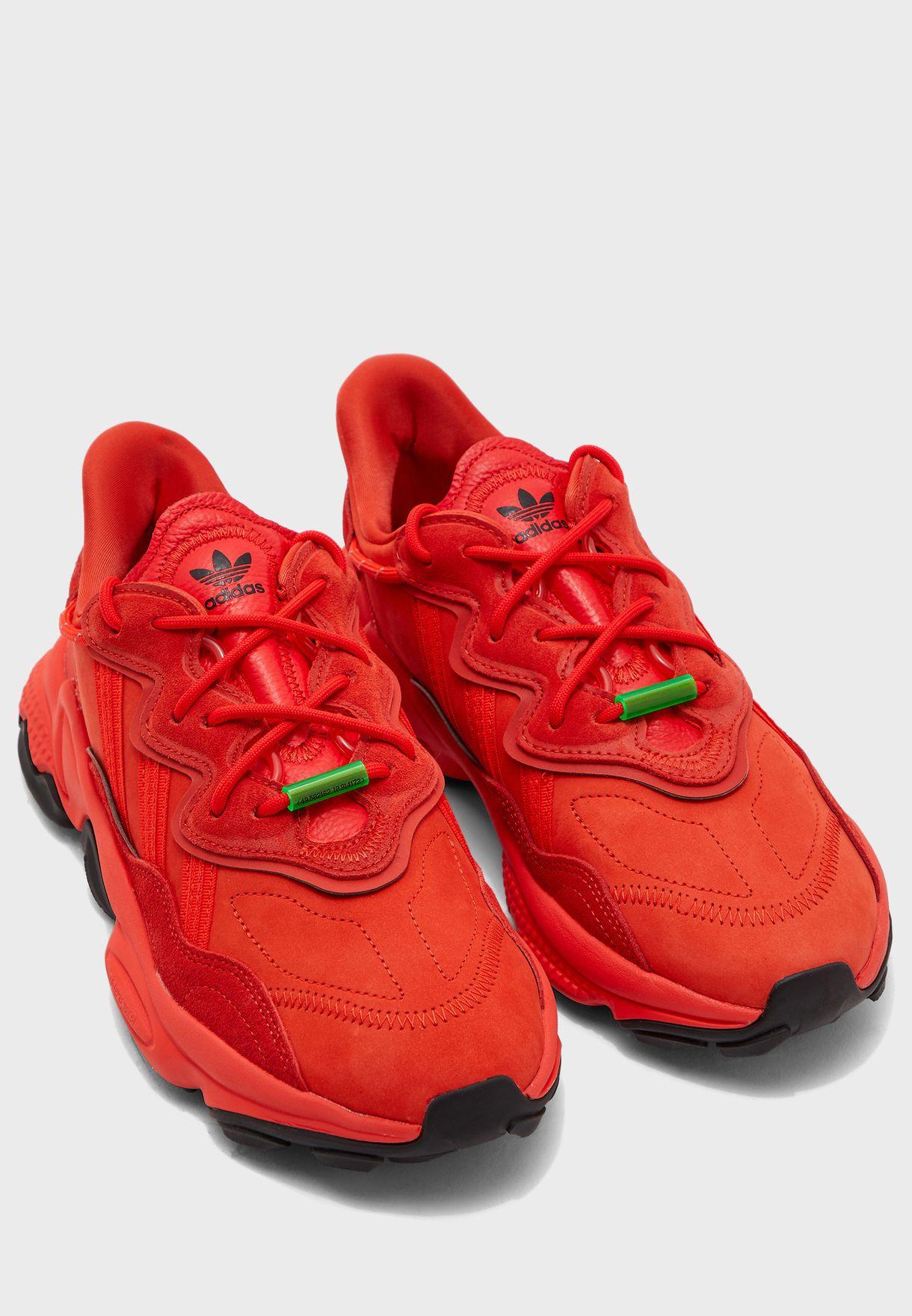 Buy adidas Originals red Ozweego TR for