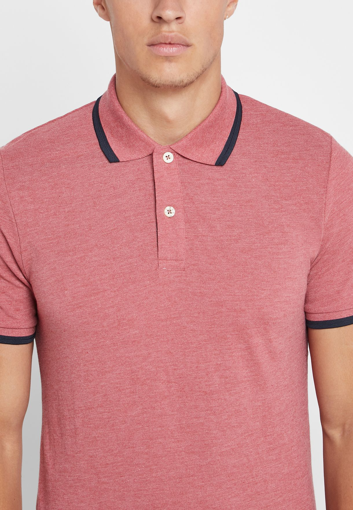 Essential Contrast Edge Polo