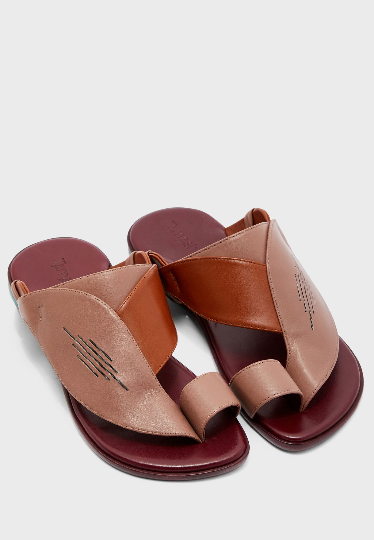 Taifi Wide Strap Sandals