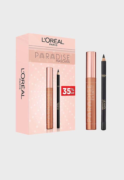 Paradise Mascara Eye Set + Free Eyeliner