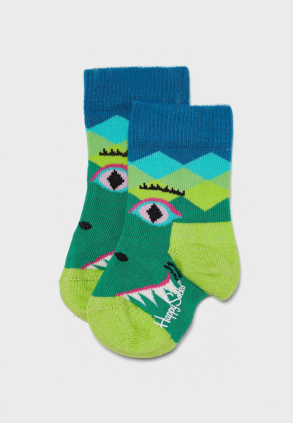 Kids Crazy Crocodile Socks