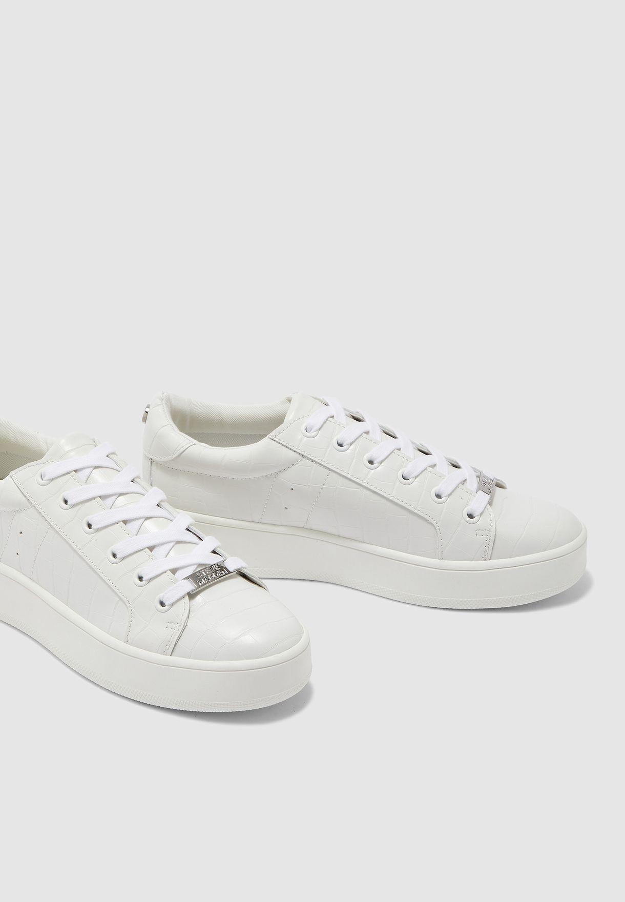 Bertie Low Top Sneaker - White