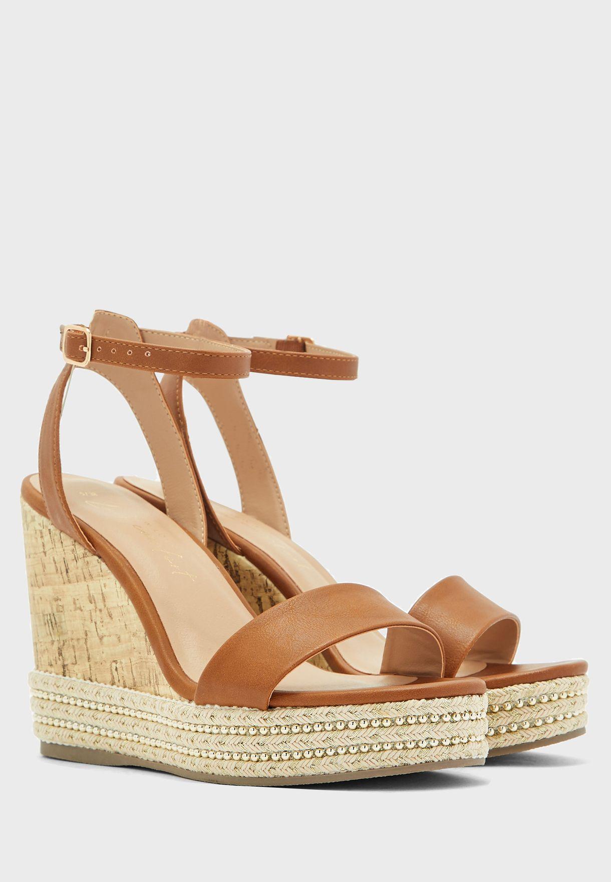 Ocean Wedge Heel Sandal
