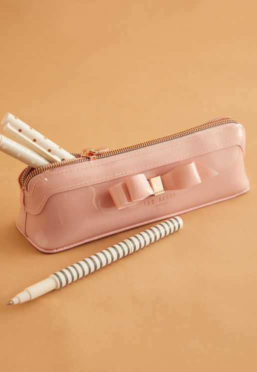Bow Detail Pencil Case