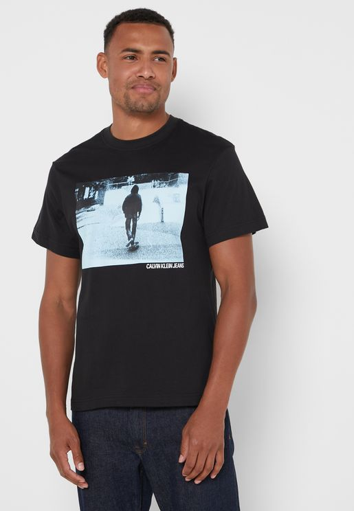 Urban Skater Crew Neck T-Shirt