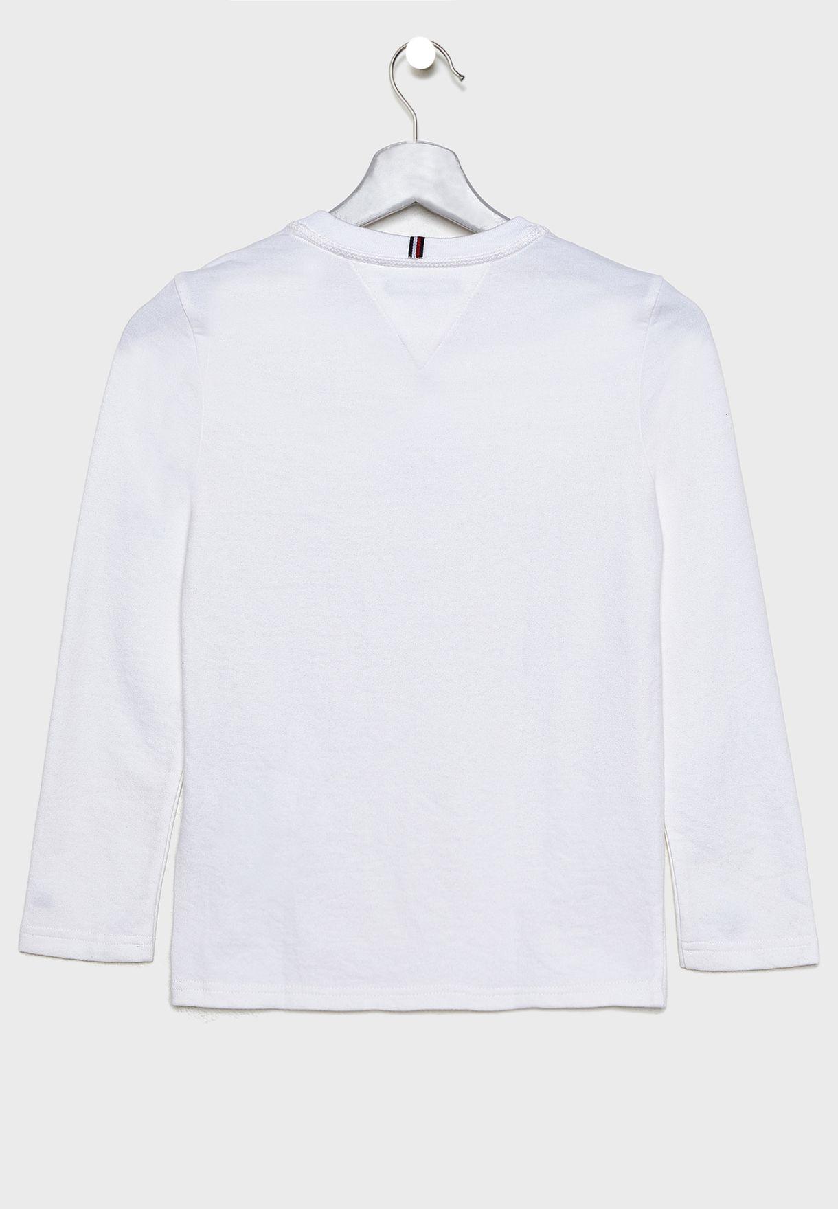 Kids Waffle Henley T-Shirt