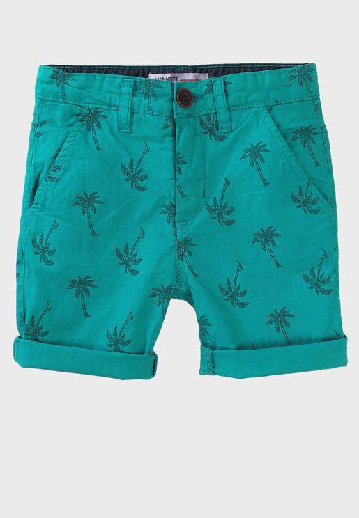Minoti Boys Printed Jersey Shorts size 3-4 years