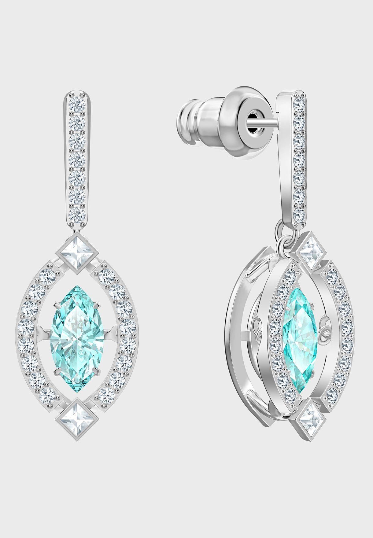 Sparkling Marq Drop Earrings