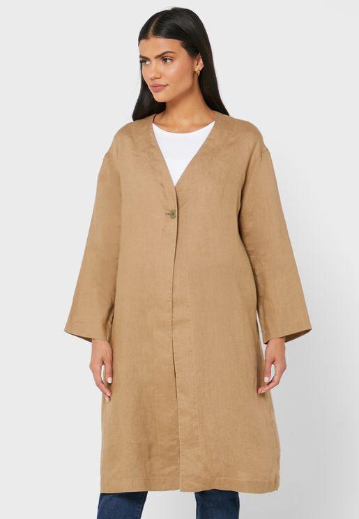 Wide Sleeves Coat