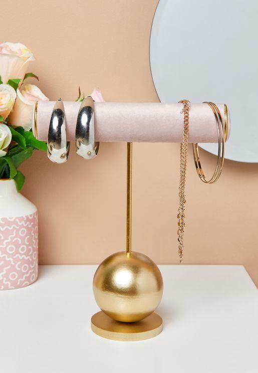 Pink Jewellery Hanger