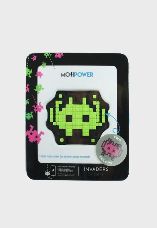 Invaders Power Bank 2600Mh