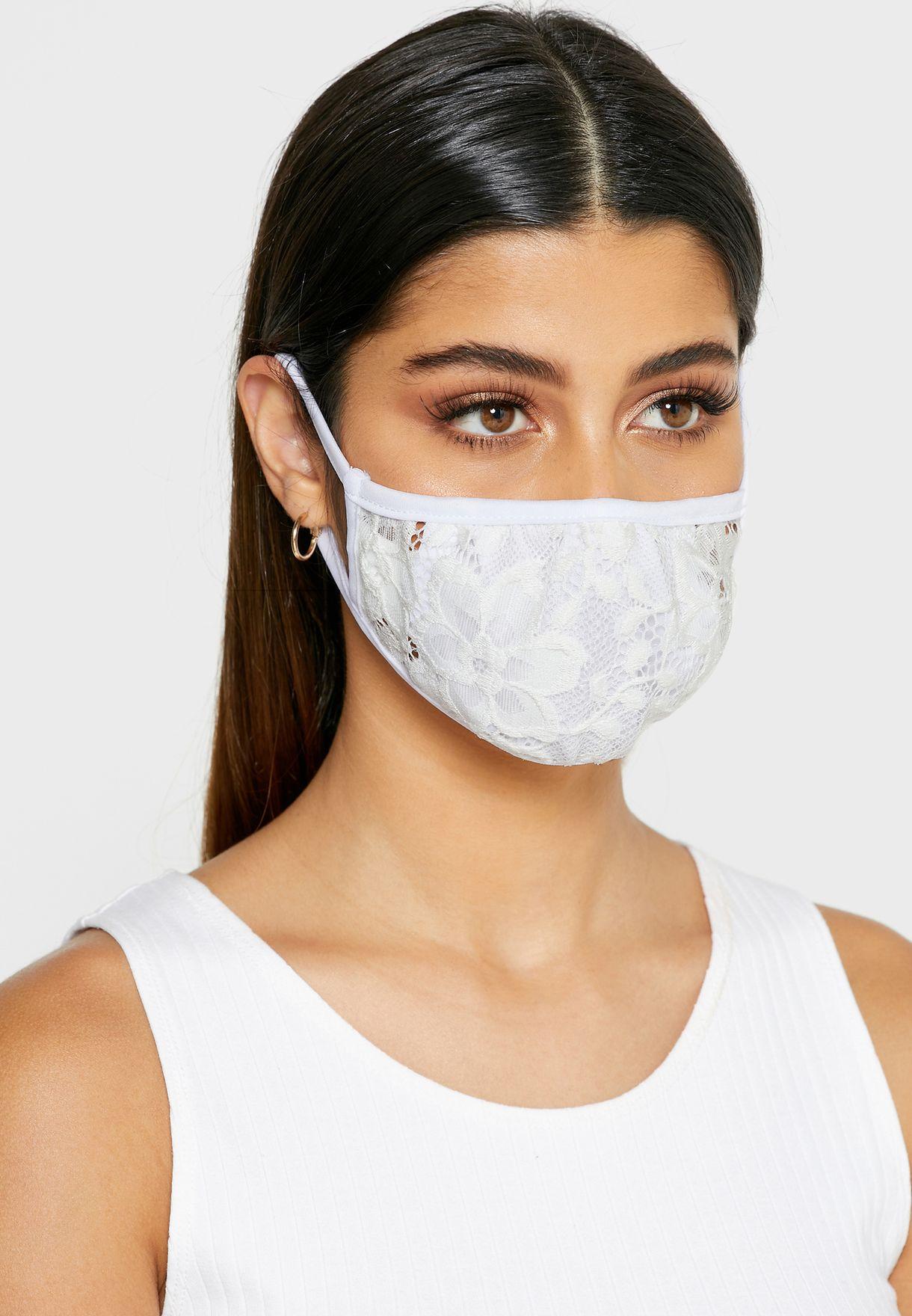 Lace Face Mask