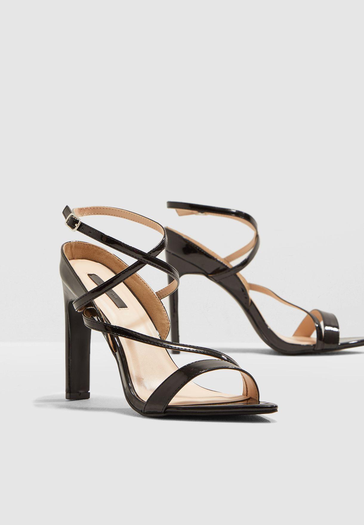 Regan Pointed Strappy Heel Sandal