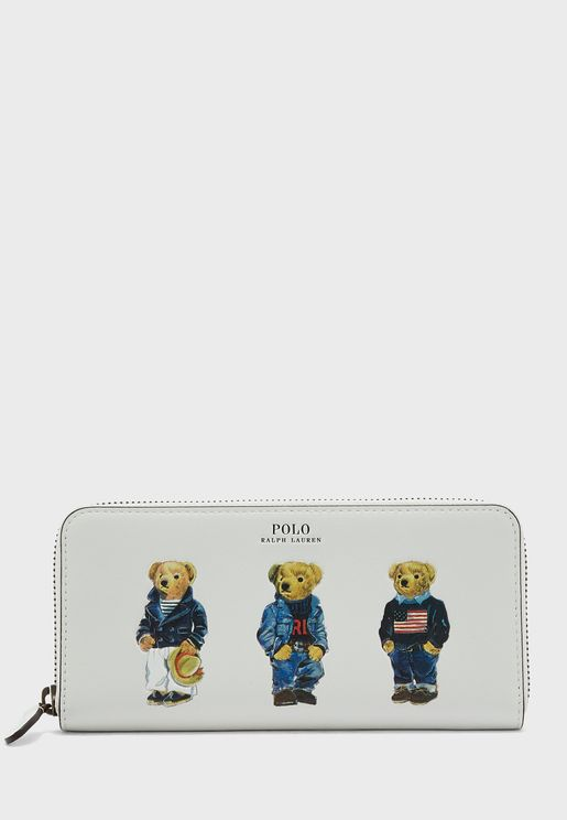 Bear Printed Purse