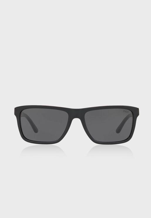 0PH4153 Square Sunglasses