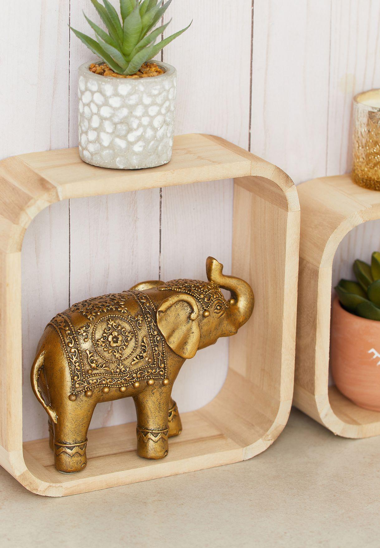 Elephant Room Decor - 15x5.5x13cm