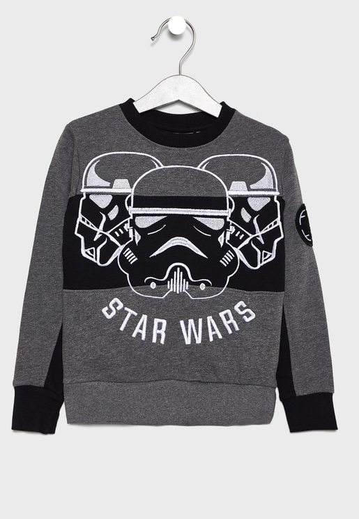 Kids Stormtrooper Sweatshirt