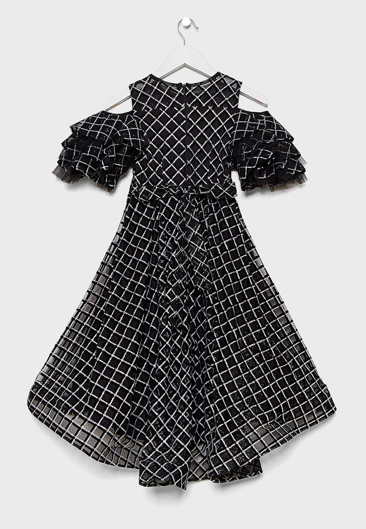 Teen Printed Dress