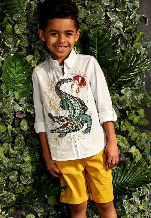 Kids Croc Shirt