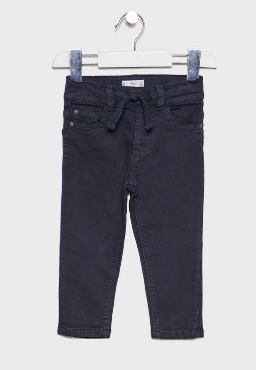 Infant Elastic Waist Trousers