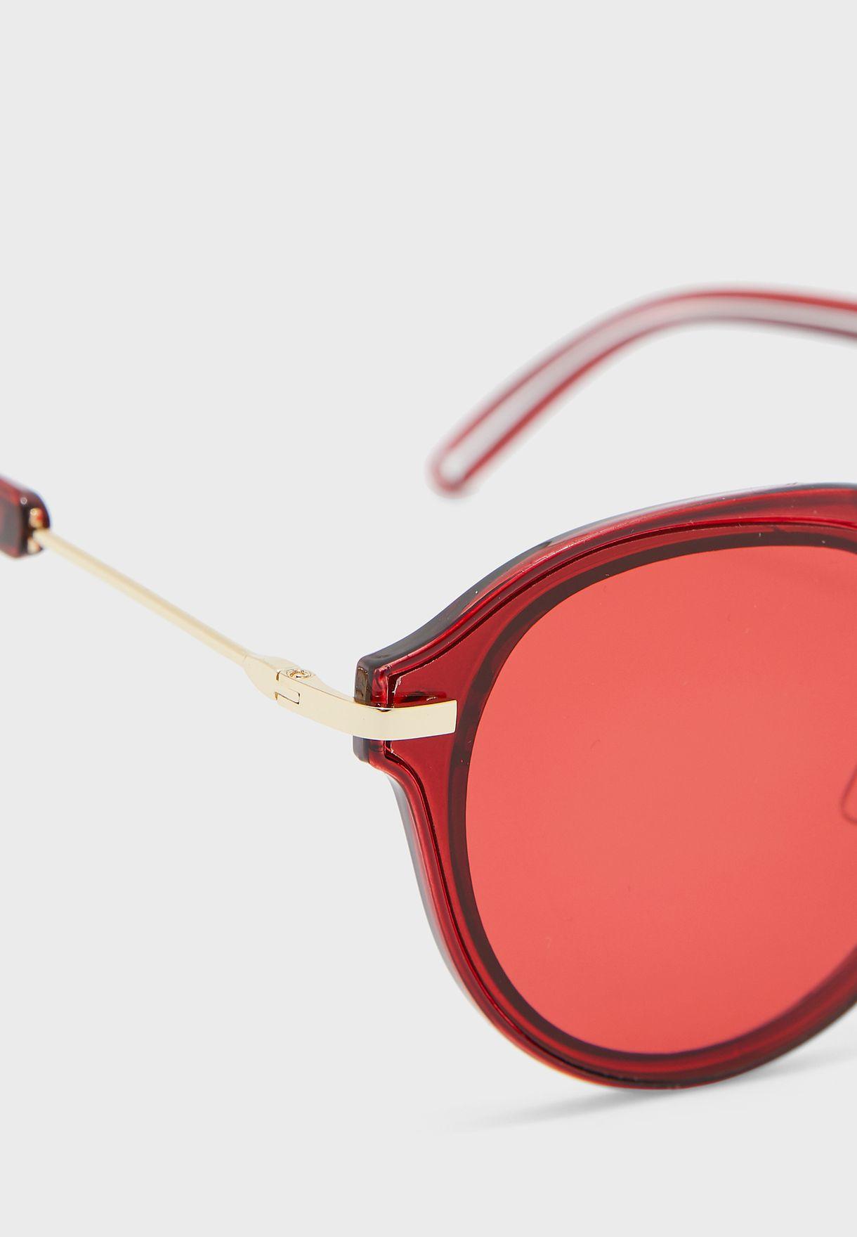 نظارة شمسية دائرية كاجوال