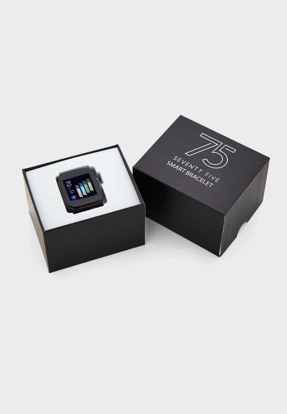 Smart Watch w/ Heart Rate Blood Pressure & Oxygen