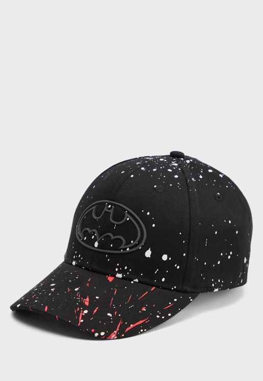 Printed Curved Peak Cap