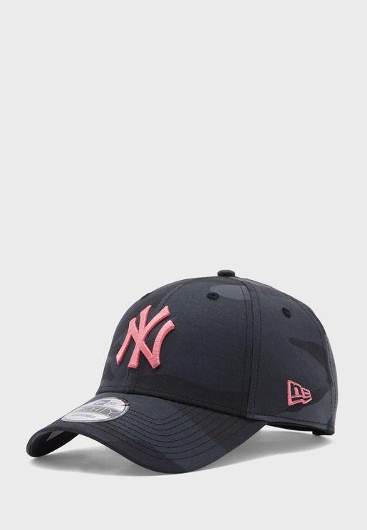 9Forty New York Yankees Camo Cap