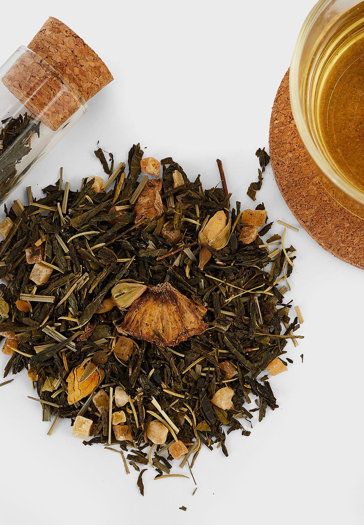 شاي اخضر - بريكلي كاكتوس