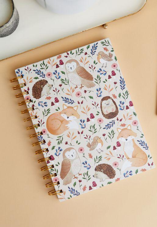 A5 Forest Folk Notebook