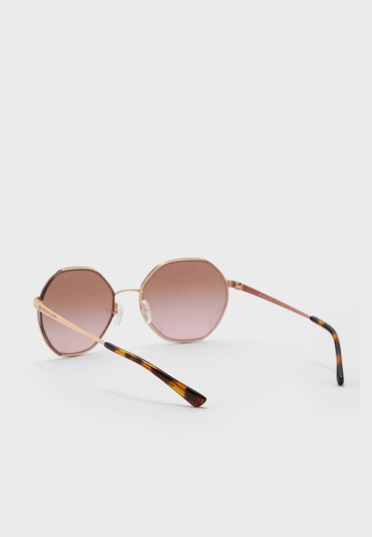 0MK1072 Hexagonal Sunglasses