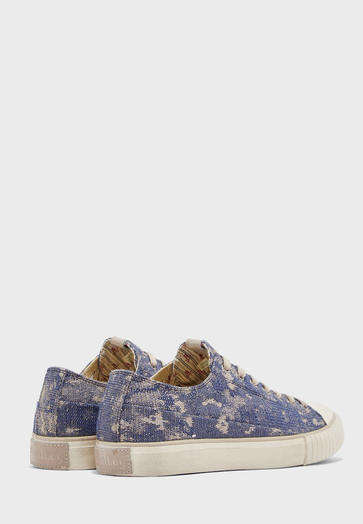 Abstract Camo Jacquard Sneakers